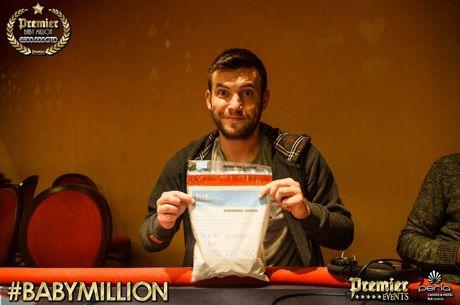Nedim Jusupović Predvodi Finalnih 9 na Baby Million Main Eventu u Novoj Gorici