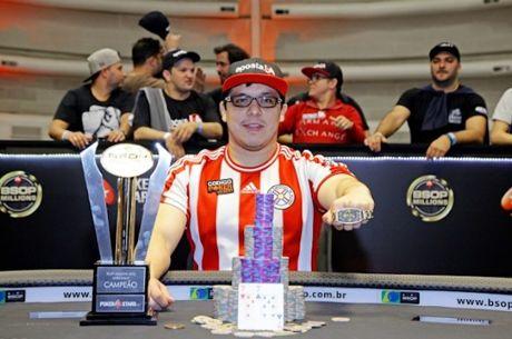 Paraguaio Gustavo Soler Vence Main Event BSOP Millions 2016 (€234.835)