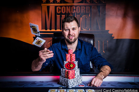 David Urban gewinnt die Concord Million VI