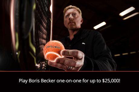 Boris Becker devient un ambassadeur PartyPoker