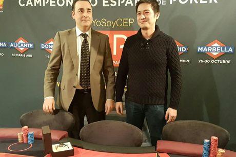 Liron Hu Yu Campeón de España de Poker 2016