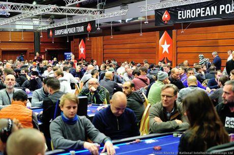 Jorge Abreu e Luis Dono no Dia 2 do Main Event Eureka Poker Tour