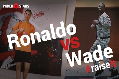 Cristiano Ronaldo vs. Dwyane Wade Water Bottle Challenge #RaiseIt