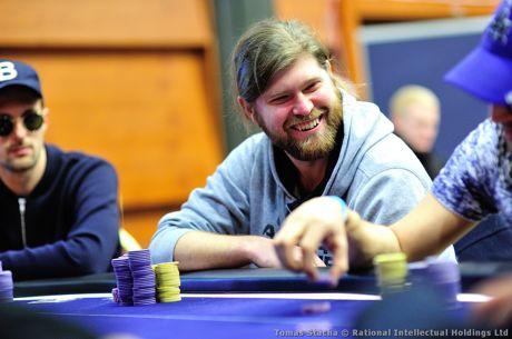 EPT Praga: Francois Billard Chip Leader com 19 em Jogo no €10k NL Hold'em Single Re-Entry