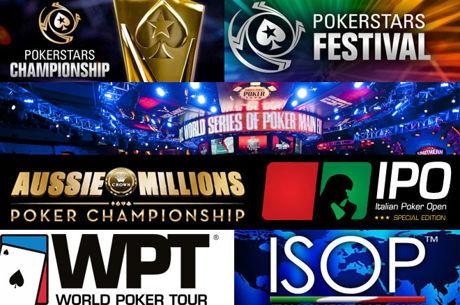 I Migliori Tornei di Poker Live del 2017