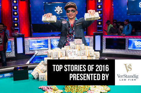 Top 10 Stories of 2016, #1: Qui Nguyen Wins the 2016 World Series of Poker Main Event