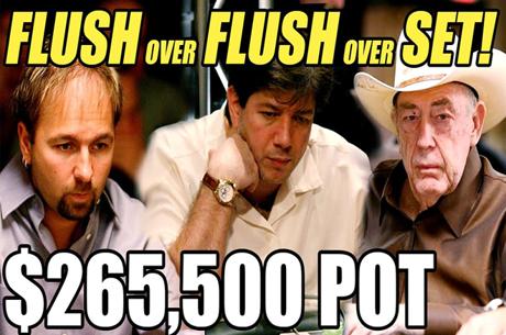 Negreanu, Benyamine, Brunson e $265k no Pote, Doug Polk Analisa