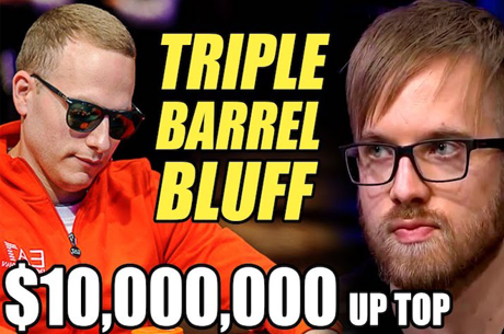 3 Barris em Bluff com $10,000,000 em Jogo no ME WSOP!