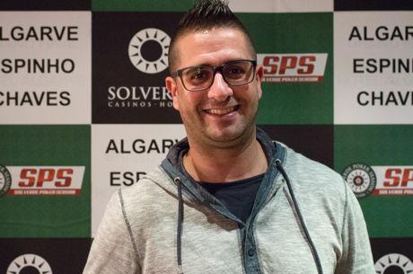 Sandro Fortunato no Dia 2 do Evento #11 $250 NL SuperStack $125,000 GTD do New Year's...
