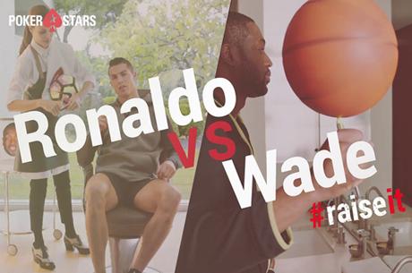 Dwayne Wade Responde ao Raise de Cristiano Ronaldo