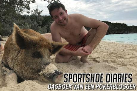Sportshoe Diaries: Zwemmende varkens, leguanen met een hoog cholesterol en Kevin Hart interviewen