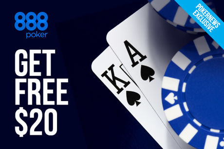 Claim a Free $20 to Play Poker With on 888