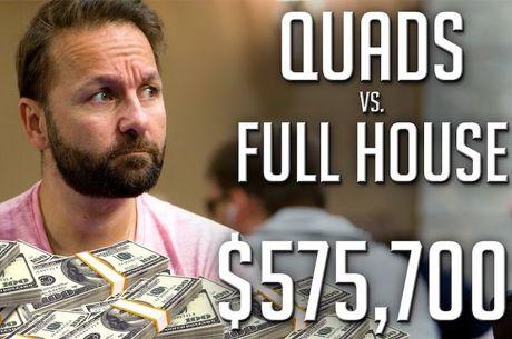 Pote de $575,700 com Poker! Podes Foldar um Full House?!