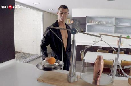 Cristiano Ronaldo Enfrenta Dwyane Wade ao Pequeno-Almoço