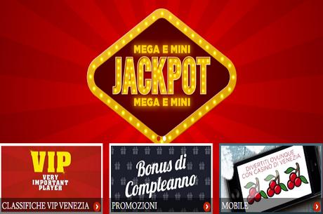 Eccezionale Megajackpot Nel Gioco On Line Del Casino' Di Venezia