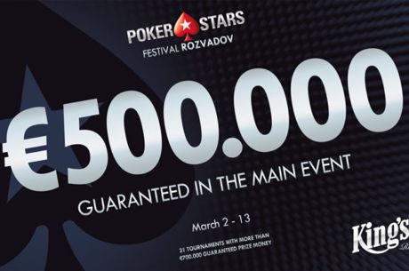 Das PokerStars Festival ab 2. März im King's Rozvadov