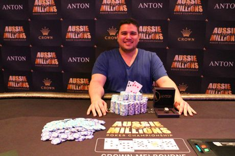Niall Murray Defeats Jack Salter to Win Aussie Millions Event #5