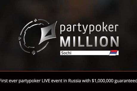 First partypoker LIVE Million National to Take Place in Russia