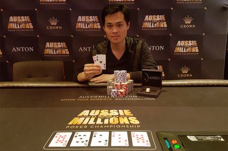 James Chen Wins Biggest-Ever Aussie Millions $25,000 for AUD$861,840