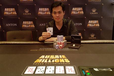 James Chen Wins Biggest Aussie Millions $25K Ever for AUD$861,840