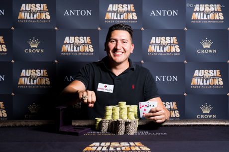 Rodrigo Meneses Triumphs in Event 10 of the 2017 Aussie Millions