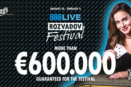 Das 888Live Festival lockt mit mehr als €600.000 GTD ins King's