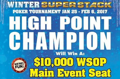 A Free WSOP Main Event Seat Added to Winter Super Stack