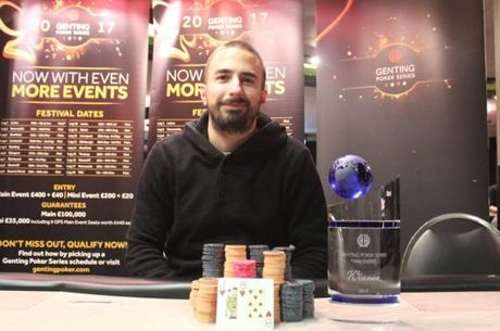 John Bonadies Wins First Genting Poker Series Event of 2017