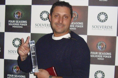 Fausto Silva Vence Solverde Best Poker Player 2016 (€7,299)