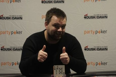 Stephen Shayler Wins the DTD200 Six-Max For £20,000