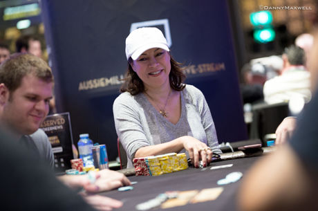 Jennifer Tilly Leads the Aussie Millions Main Event After Day 2