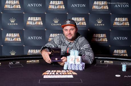 George Psarras Wins Aussie Millions Event #17