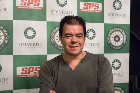 Hipólito Nogueira Lidera Dia 1 Etapa #1 Solverde Poker Season 2017