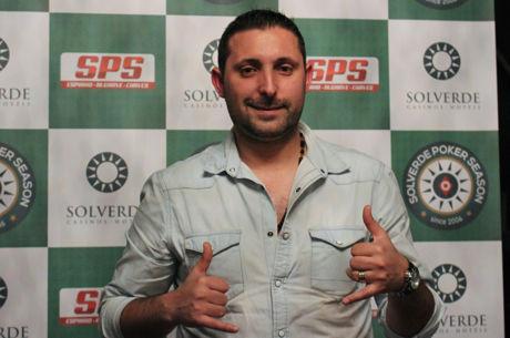 Fausto Silva Lidera dia 2 da Etapa #1 Solverde Poker Season 2017