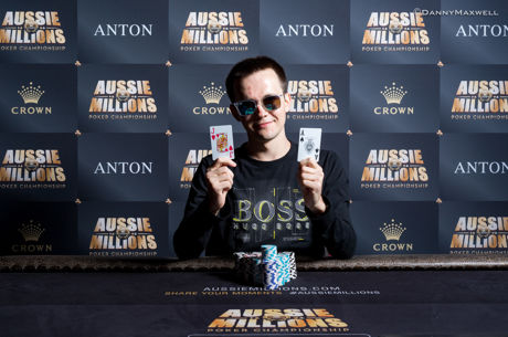 Mikita Badziakouski Wins the Aussie Millions $50K Shot Clock