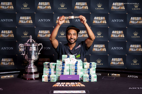 Shurane Vijayaram Wins the 2017 Aussie Millions Main Event