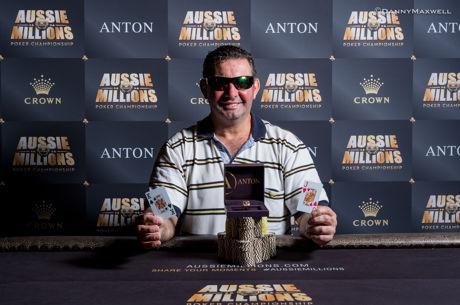 Sotirios Kiokpasoglou Wins Aussie Millions Event #21