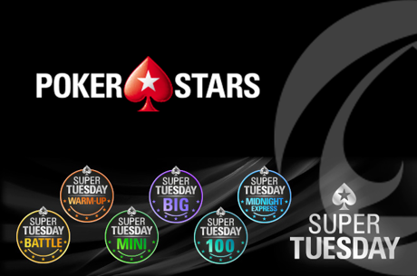 ferpin22 Vence Super Tuesday €100; martigala 21 o The Hot BigStack Turbo €50 & Mais