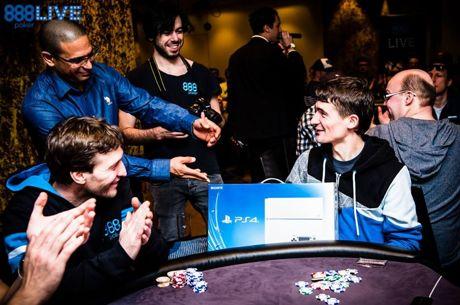 Fünf der besten MTT's bei 888poker
