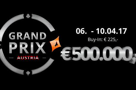 Premiere des partypoker Grand Prix  € 500.000 sind garantiert