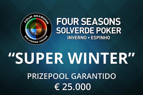 4 Entradas Grátis e Sit&Go's para o Super Winter 6 a 11 de Março Casino Espinho