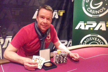 Andy Whiteford is the Scottish Amateur Poker Champion