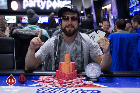Playground Winter Festival: Jeremy Galin Tops Deepstack Turbo