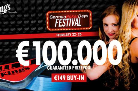 German Poker Days Festival ab heute im King's