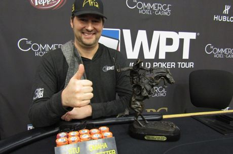 Phil Hellmuth Bests Mike Matusow in LAPC Side Event