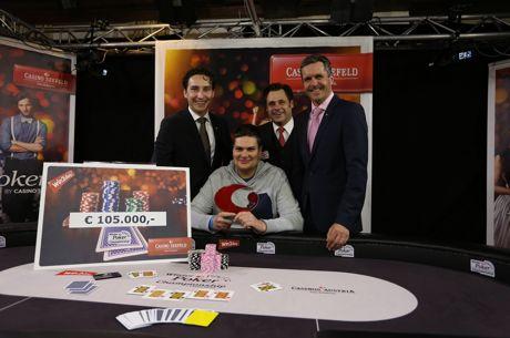 Marian Fridrich gewinnt die Casinos Austria Winter Poker Championship Seefeld