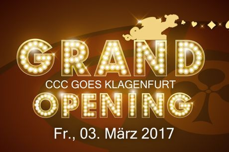 Das Concord Card Casino Klagenfurt eröffnet