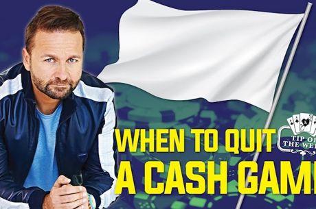 Quando Terminar uma Sessão de Cash Game?