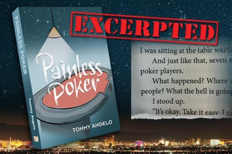 Tommy Angelo Presents His New Book 'Painless Poker'