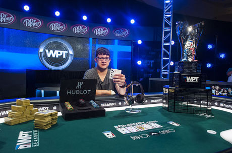 Sam Panzica Wins WPT Bay 101 Shooting Star for Second Title of Season